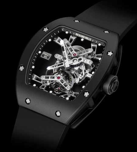 Richard Mille RM0 27 Tourbillon watch