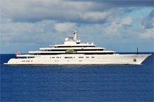 Abramovich's Eclipse available to charter!?