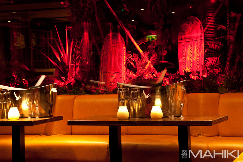 Mahiki – tropical escape in the heart of Mayfair