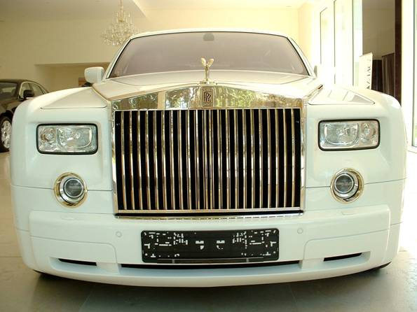 Stuart Hughes 5m Rolls Royce Phantom