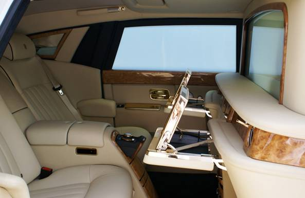 inside view of the £5m stuart huges rolls royce phatom