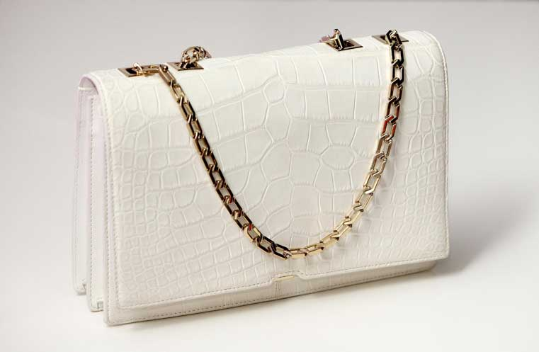 victoria beckham selfridges handbag for white christmas collection