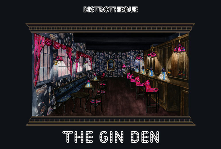 House of Hackney &#8216;Gin Den&#8217; at Bistrotheque