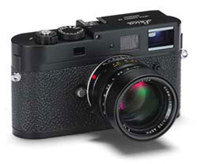 Leica rangefinder M9-P black camera