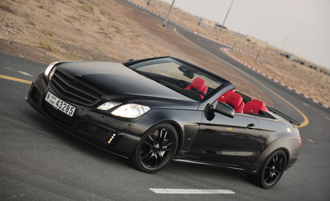 World's Most Powerful Four-Seater Cabrio