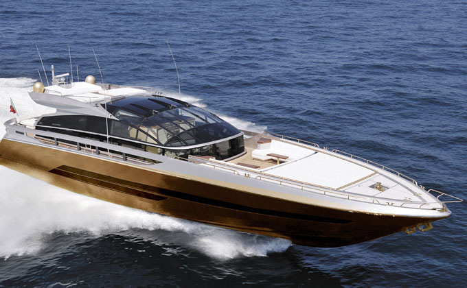 Stuart Hughes' £3billion Baia 100 Supreme