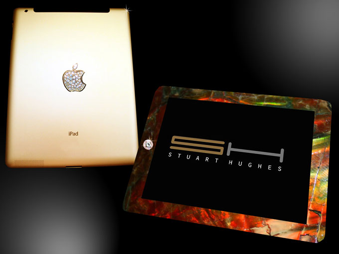 Stuart Hughes&#8217; iPad 2 Gold History Edition