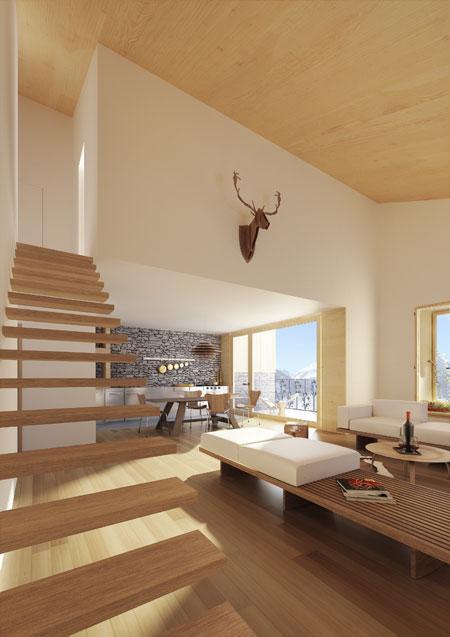Andermatt-Murmeltier-Interior