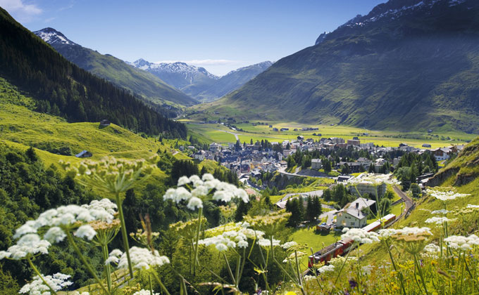 Andermatt Swiss Alps for Chic Chalets and Superlative Skiing