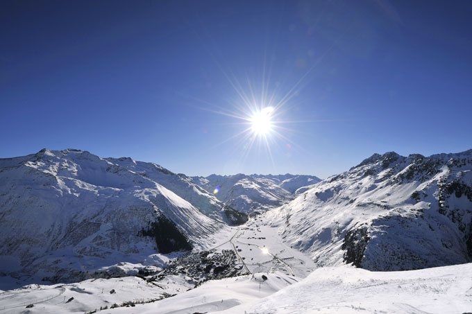 Andermatt-Winter-Panorama