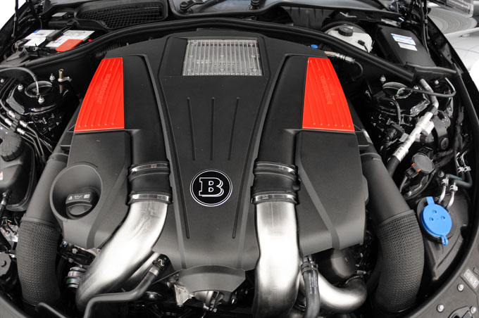 brabus cl500 engine