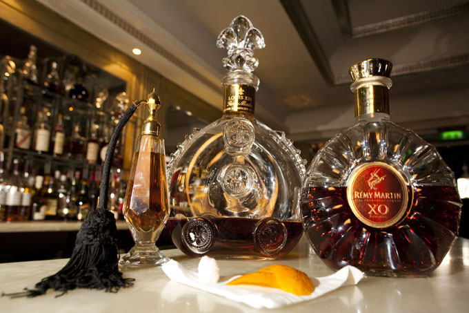 Rémy Martin XO & Louis XIII cocktail at Claridges'