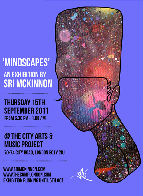'Mindscapes' Exhibition by Sri McKinnon