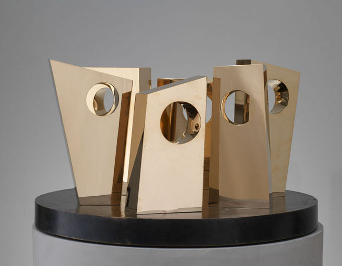 six forms on a circle barbara hepworth 1967