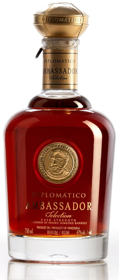 Diplomatico Ambassdor Selection Rum, 14 year old, £200 per bottle