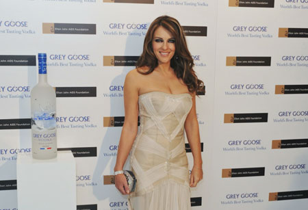 Elizabeth Hurley picture at GREY GOOSE Winter Ball