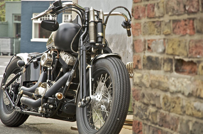 &#8216;Kamome Sprinter&#8217; Harley-Davidson motorcycle by Warr&#8217;s