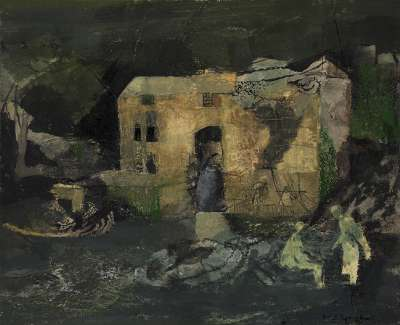 Keith Vaughan Figures and Mill