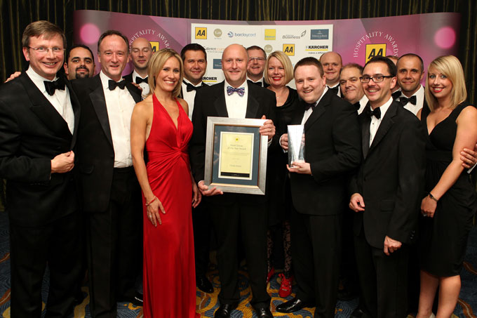 thistle crowned hotel group of the year award