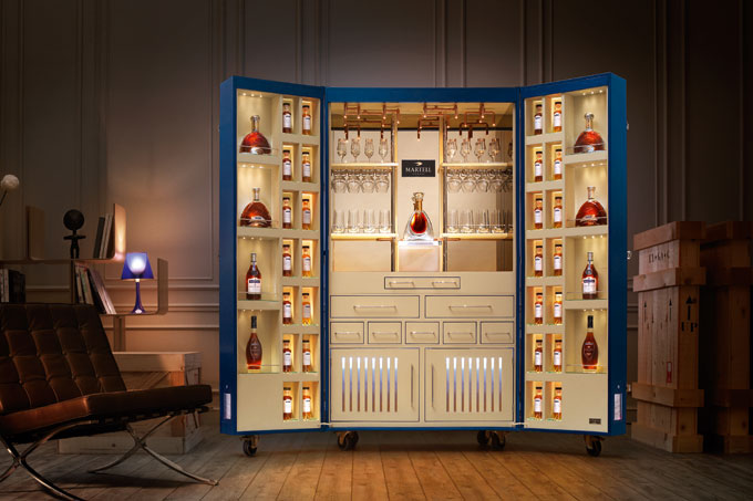 Martell launch £200k connoisseurs Cognac trunk by Pinel & Pinel