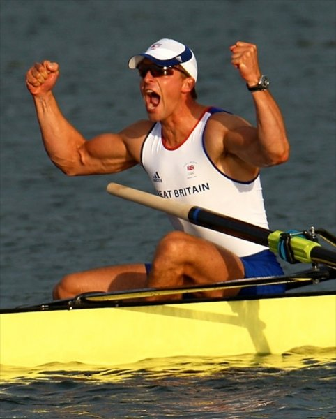 pete reed olympic rowing gold medalist beijing china for London 2012 olympics winning photo