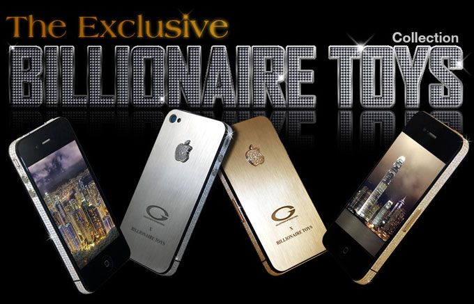 Apple iPhone 4S Billionaire Toys Gold & Platinum limited edition