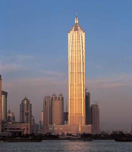 Andaz Shanghai China Tower Exterior