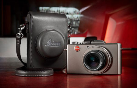 Leica D-Lux-5 Titanium Special Edition with case