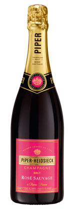 Piper-Heidsieck Rose Sauvage Champagne