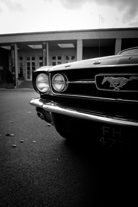 classic mustang photo