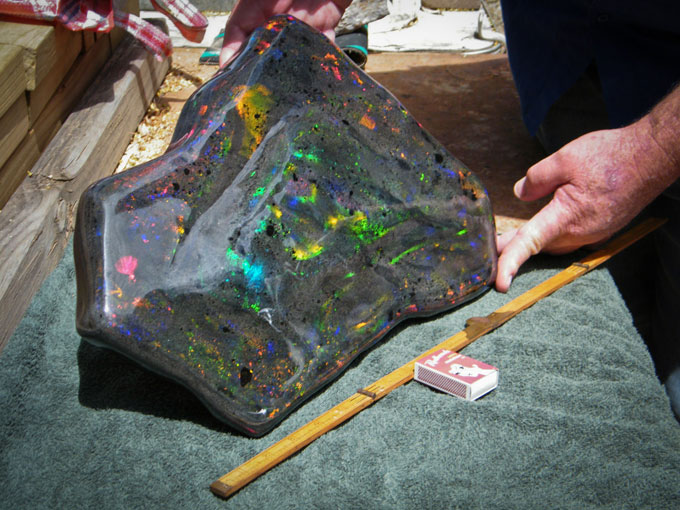 World&#8217;s largest most expensive Opal Matrix discovered in Australia