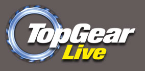 top gear live at london excel exhibition uk 2011 logo