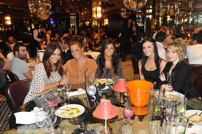 veni vidici champagne brunch party knightsbridge chelsea frankies 2011 girls dining
