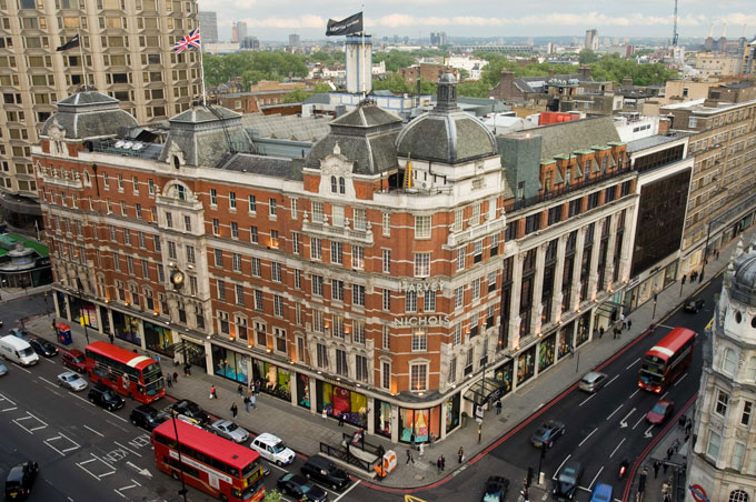 Athenaeum Hotel London VIP shopping service with Harvey Nichols Knightsbridge