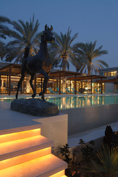 The Royal Salute UAE Nations Pop Cup Desert Palm hotel Dubai pool