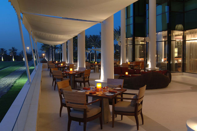 The Royal Salute UAE Nations Pop Cup Desert Palm hotel Dubai restaurant alfresco dining