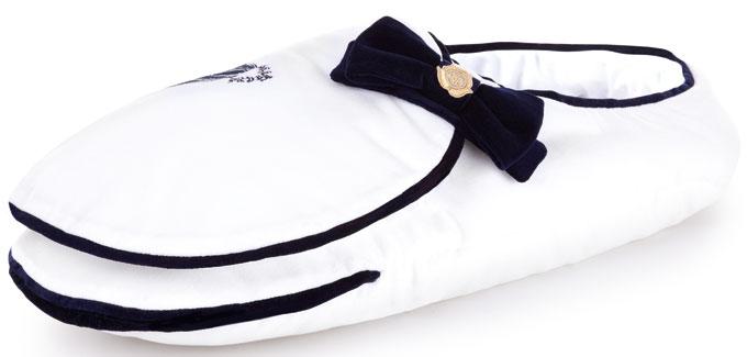 Su Bach Baby Bach Cocoon luxury vabywear WHITE BLANKET