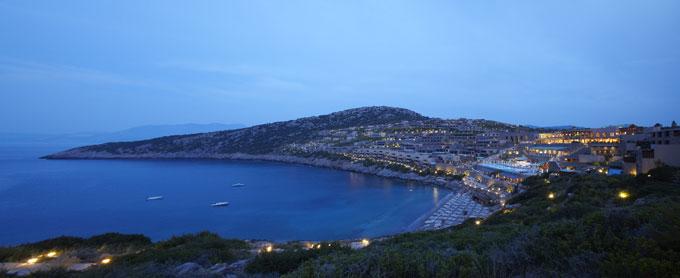 gran melia resort and luxury vills daios cove hotels crete swimming pool panoramic view