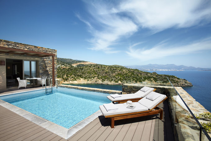 gran melia resort and luxury vills daios cove hotels crete swimming pool