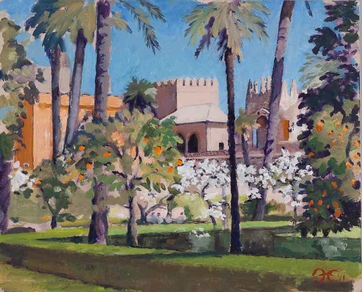 Alistair Erskine &#8211; Mediterranean Impressions at James Harvey British Art