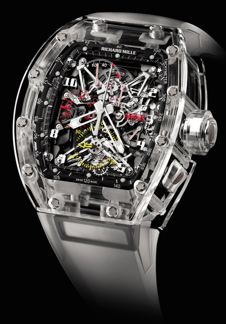 Richard Mille &#8211; RM-056 Felipe Massa Sapphire watch