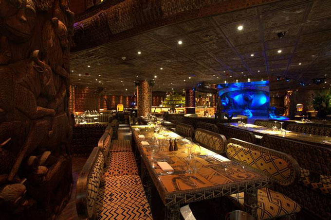 Shaka Zulu Restaurant Camden London