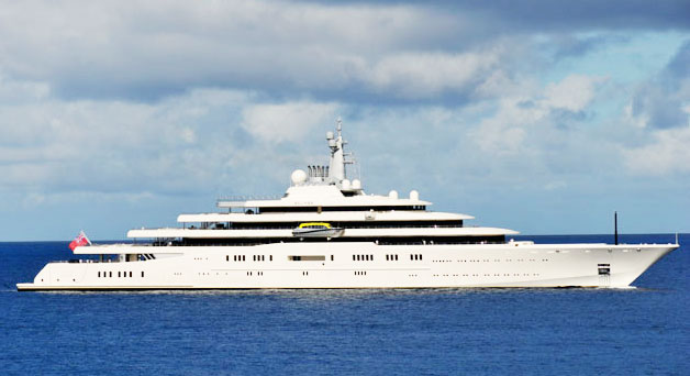 Roman Abramovich yacht Eclipse is most expensive in the world with paparazzi laser-shield