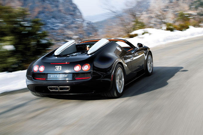 Bugatti Grand Sport Vitesse worlds fastest roadster