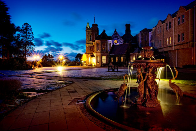 Culloden Estate and Spa Belfast Northern Ireland fountain