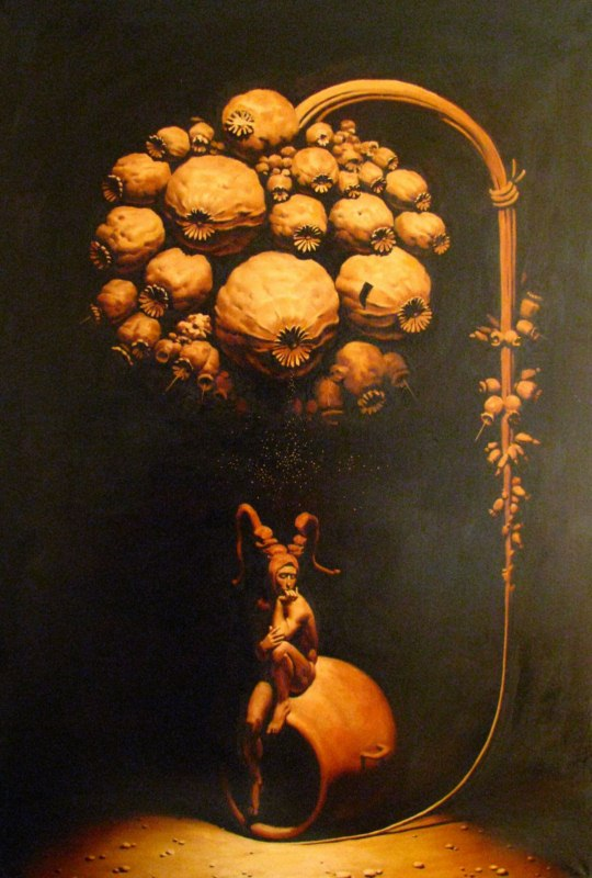 Erarta Galleries Aleksey Chizhov Les Paradis Naturels Morpheus
