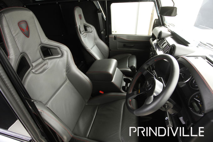 Prindiville unveil their rude new Limited Edition Land Rover Defender