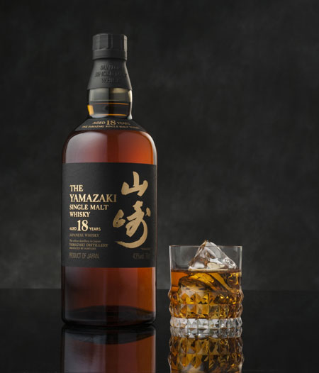 Suntory Yamazaki 18 year old whisky