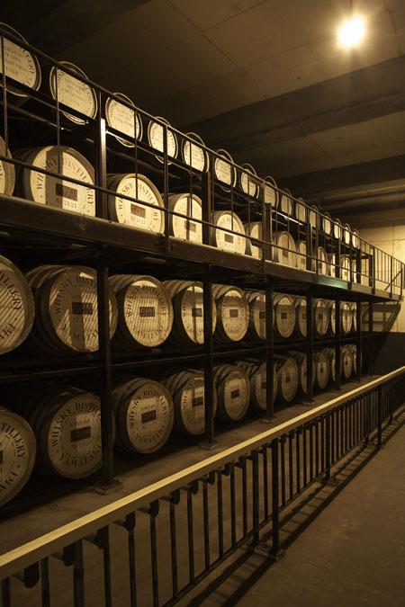 suntory japanese whisky aging casks