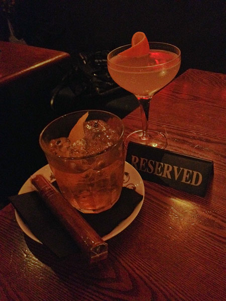 Barts goes up in smoke with its latest range of tobacco infused cocktails